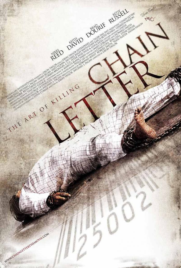 Chain Letter horror movie poster