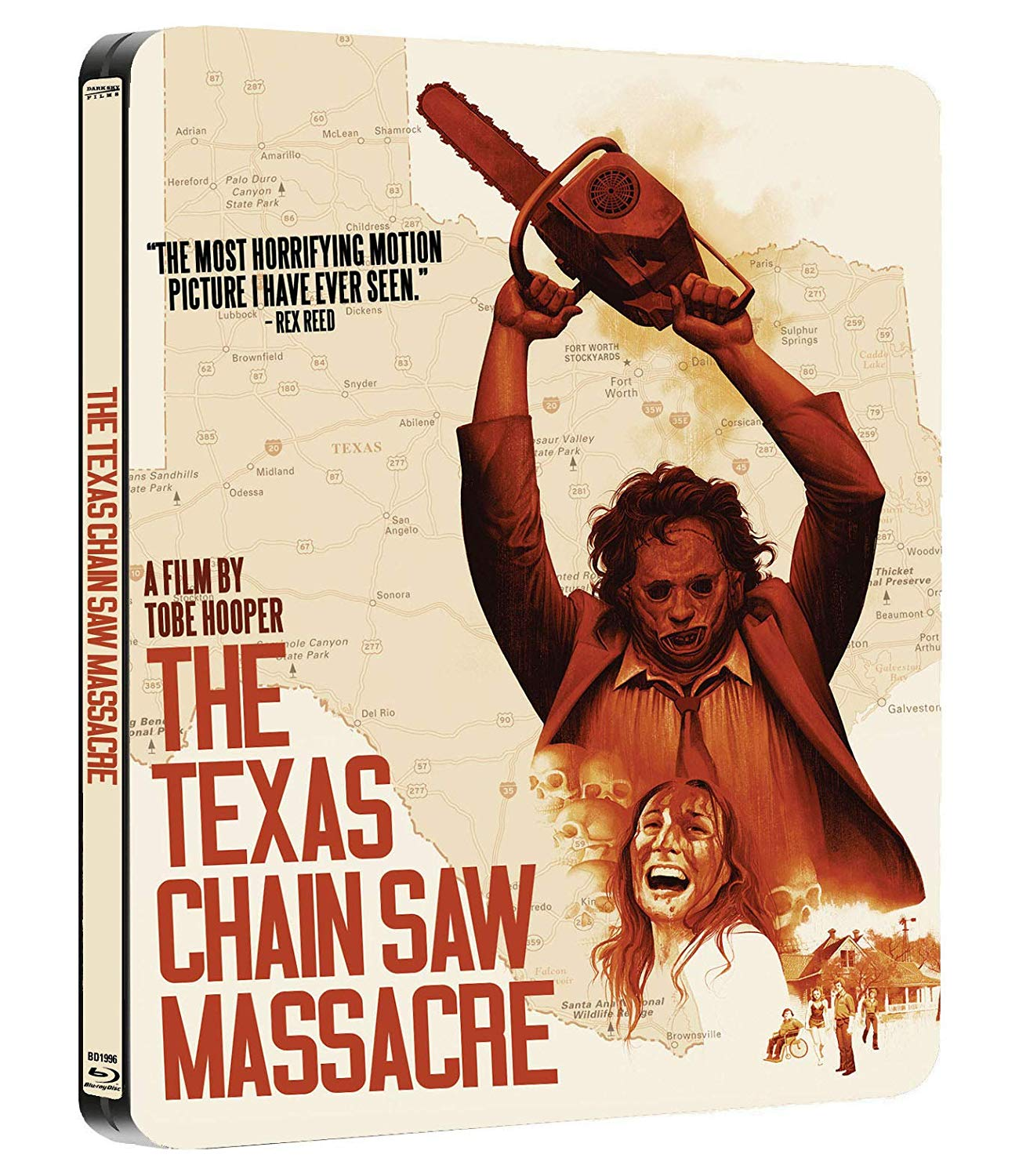 The Texas Chain Saw Massacre Limited Edition Steelbook