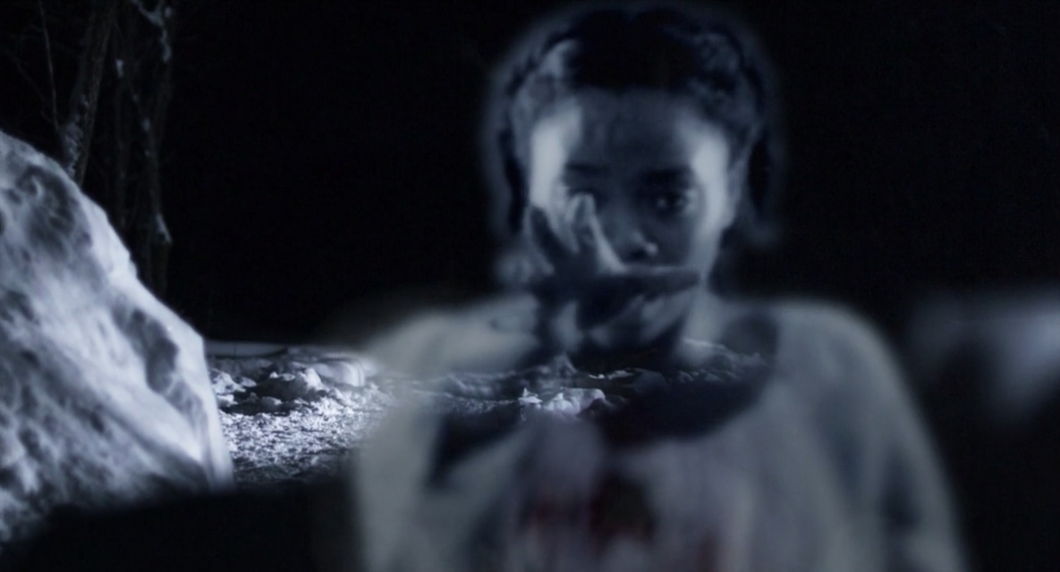 A scene from the horror movie The Inheritance