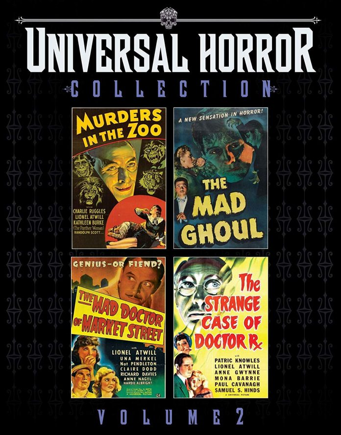 Universal Horror Collection Volume 2
