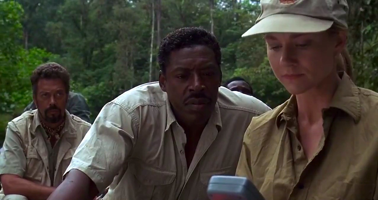 A scene from the movie Congo