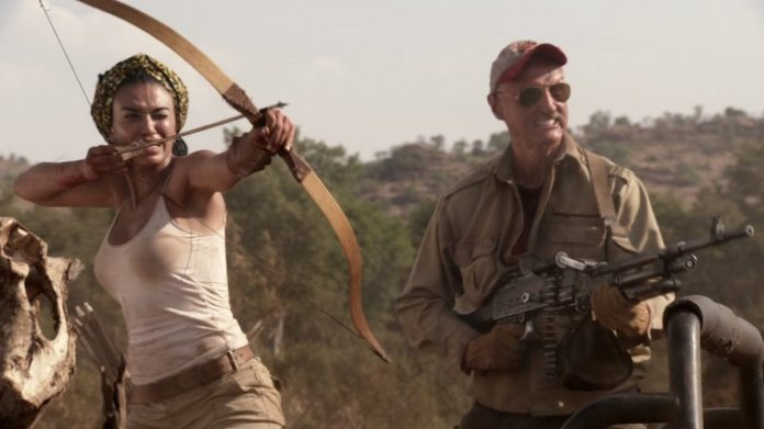 Pearl Thusi in Tremors 5: Bloodlines