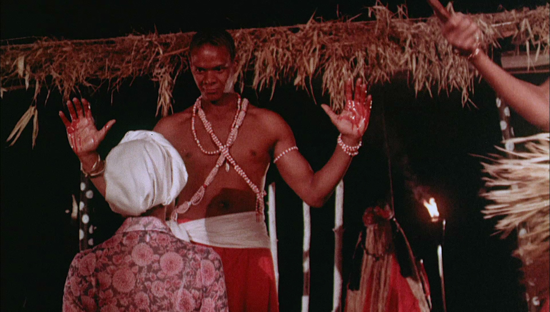 A scene from the movie Lord Shango