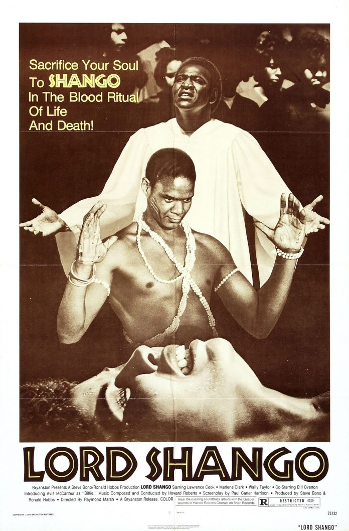 Lord Shango movie poster
