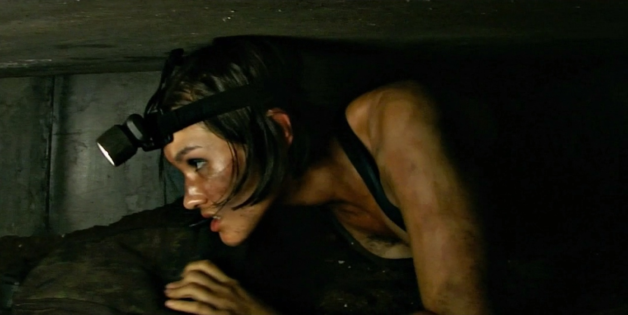 A scene from the movie The Crypt