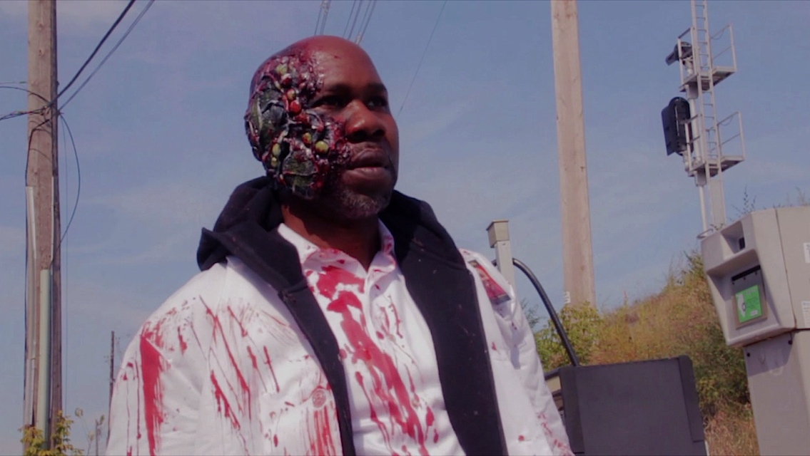 A scene from the movie Not Another Zombie Movie