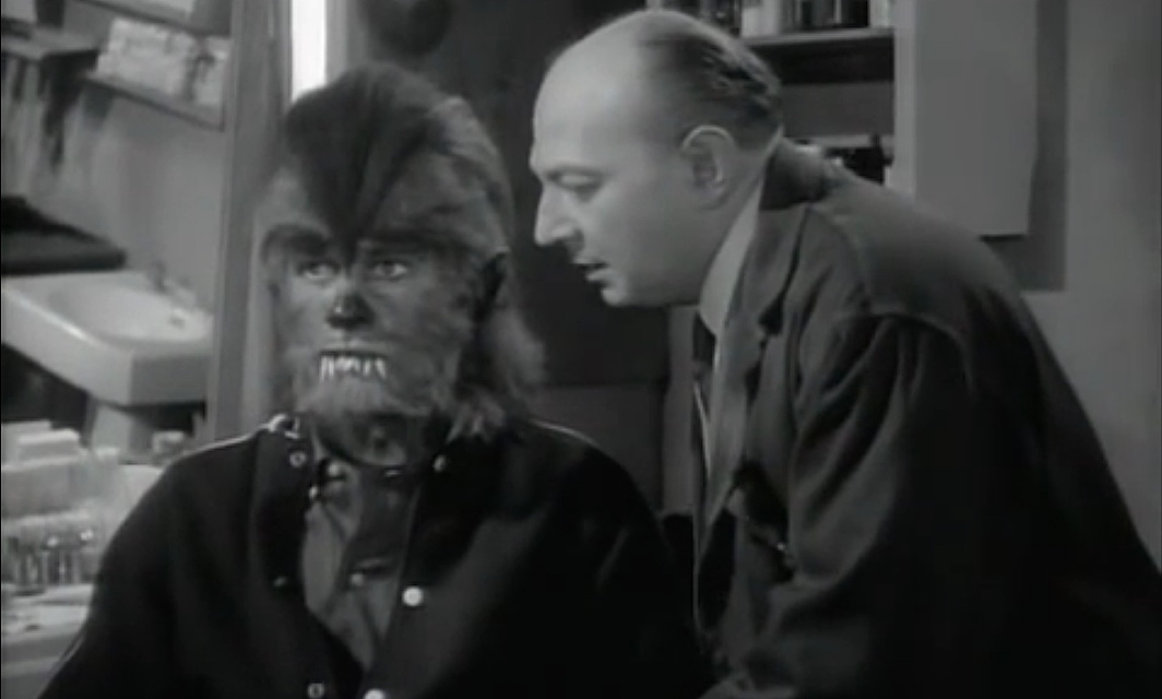 A scene from the movie How to Make a Monster