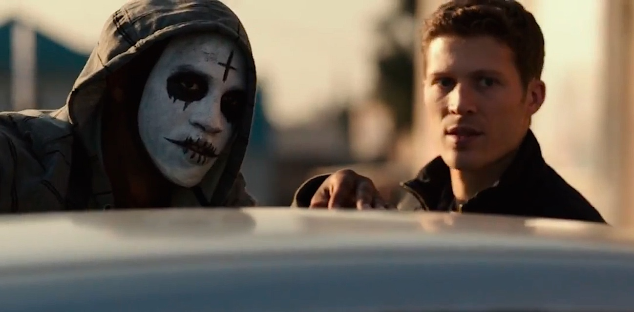 A scene from the movie The Purge: Anarchy