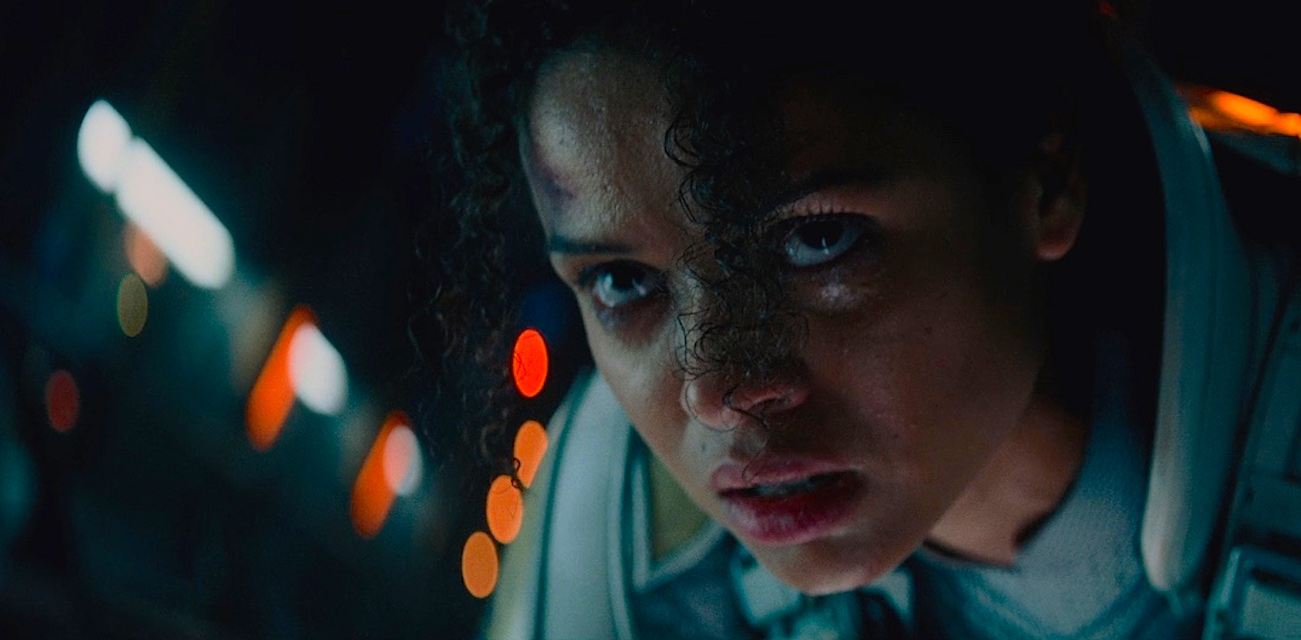 A scene from the movie The Cloverfield Paradox