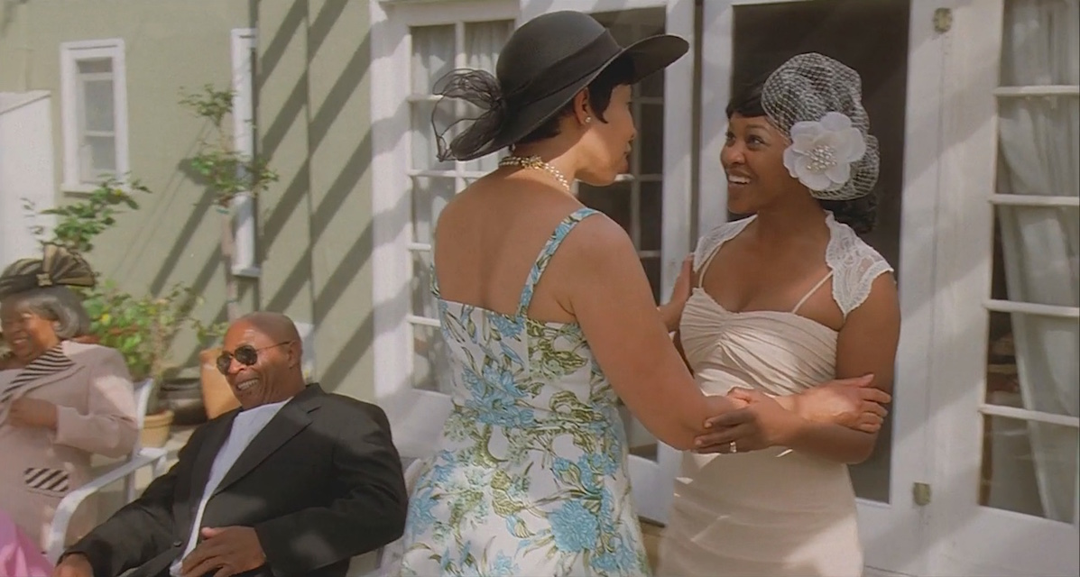 A scene from the short film The Strange Thing About the Johnsons