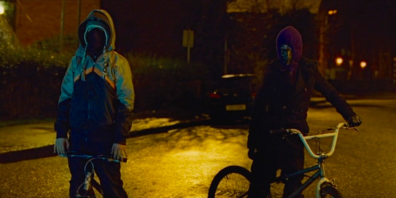 A scene from the movie Attack the Block