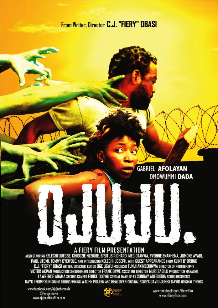 Ojuju movie poster