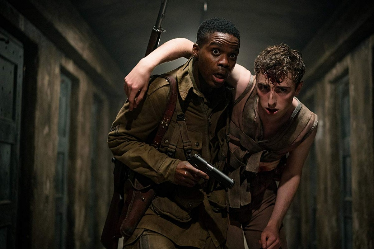 Jovan Adepo in the horror movie Overlord