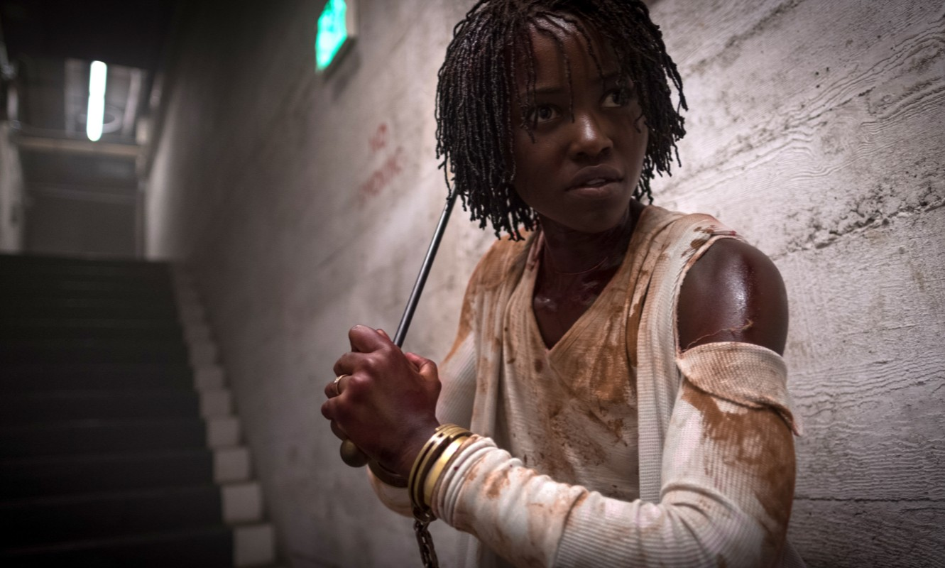 Lupita Nyong'o in horror movie Us.