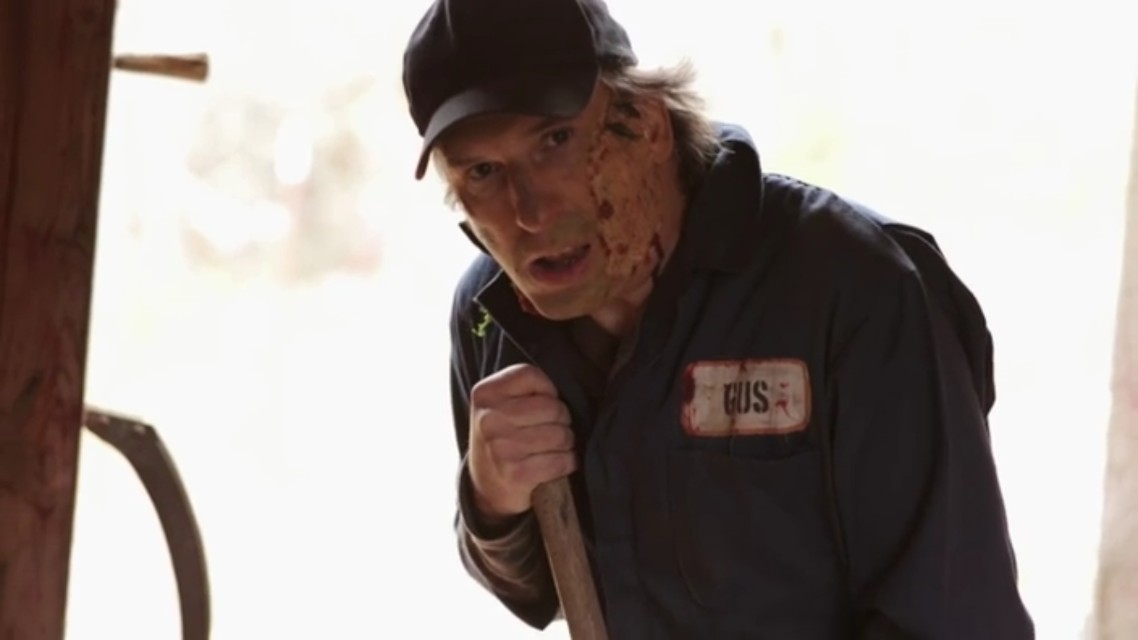 A scene from the horror movie Black Holler