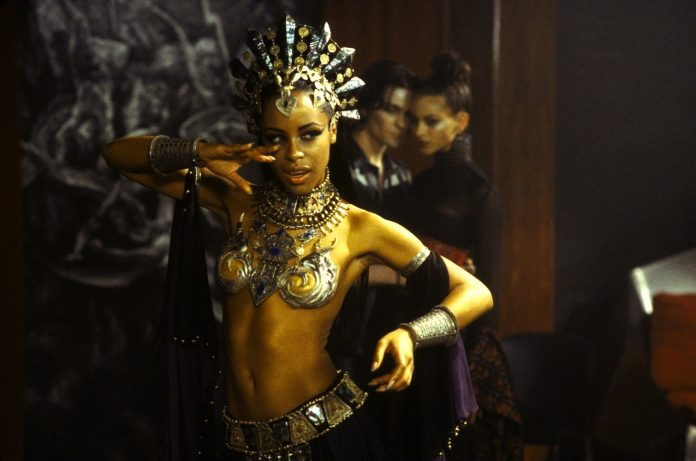 Aaliyah as Akasha in Queen of the Damned