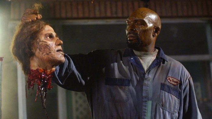Eugene Clark as Big Daddy in George Romero's Land of the Dead