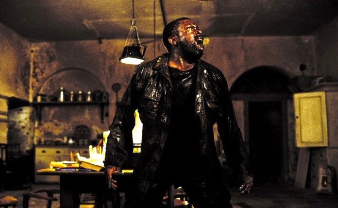 Marvin Campbell as Private Mailer in Danny Boyles' 28 Days Later