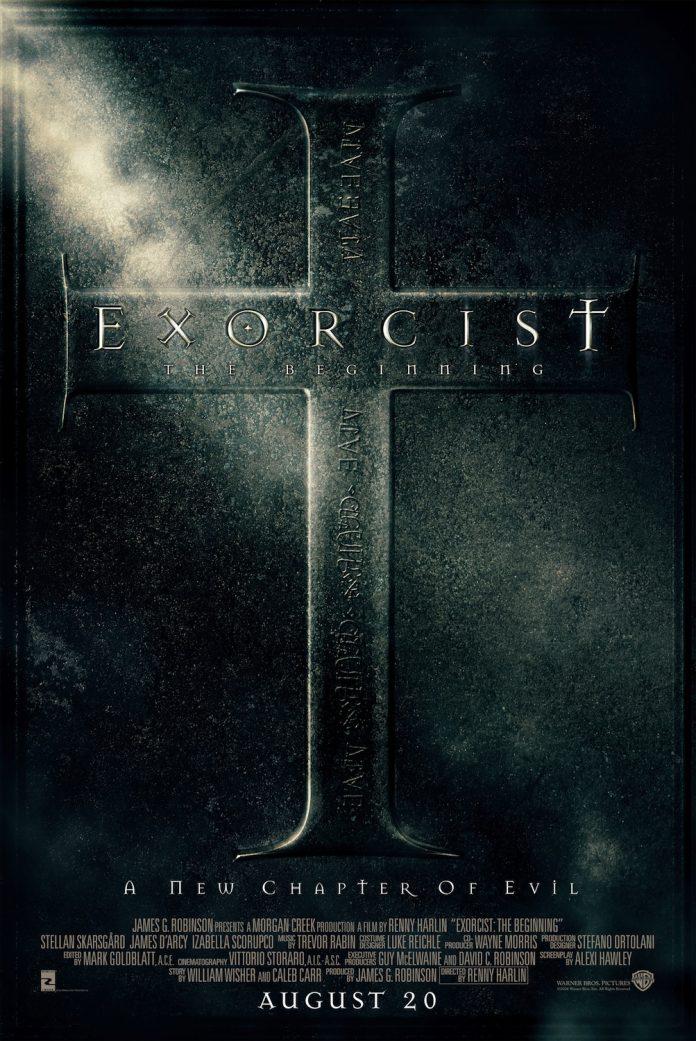 Exorcist: The Beginning horror movie poster