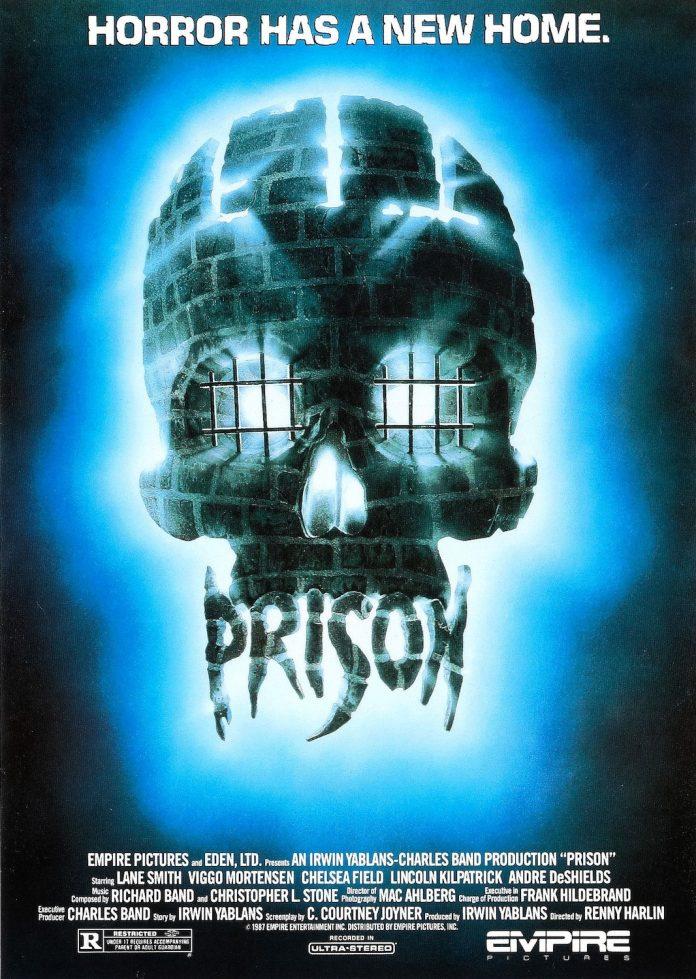 Prison horror movie poster
