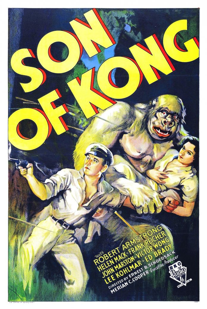 Son of Kong horror movie poster