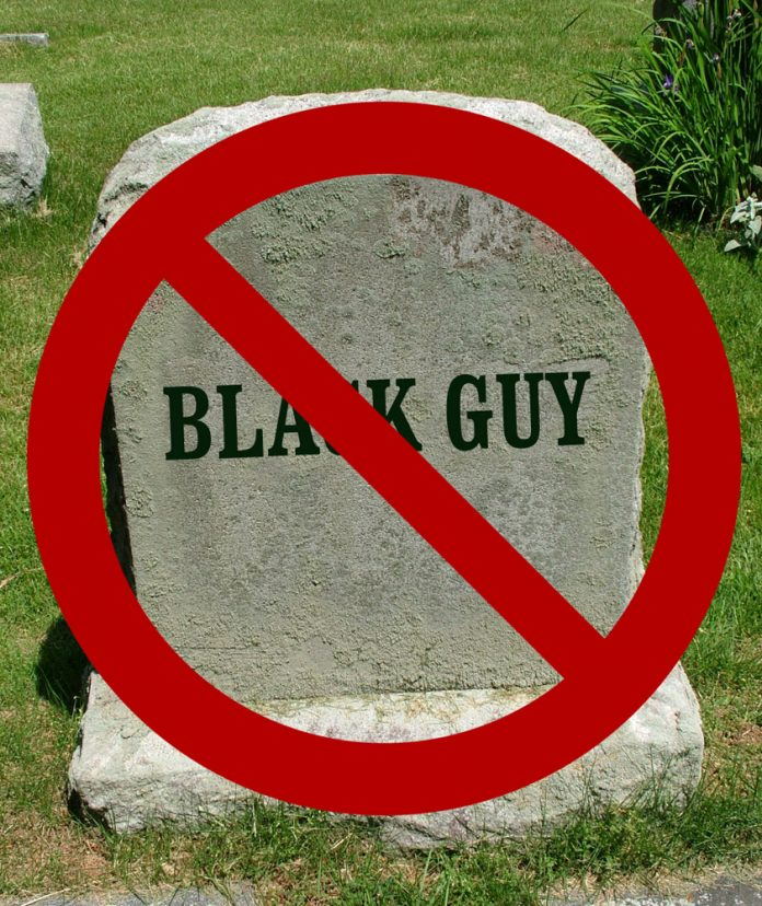 Tombstone: No Black People Were Harmed in the Making of this Film