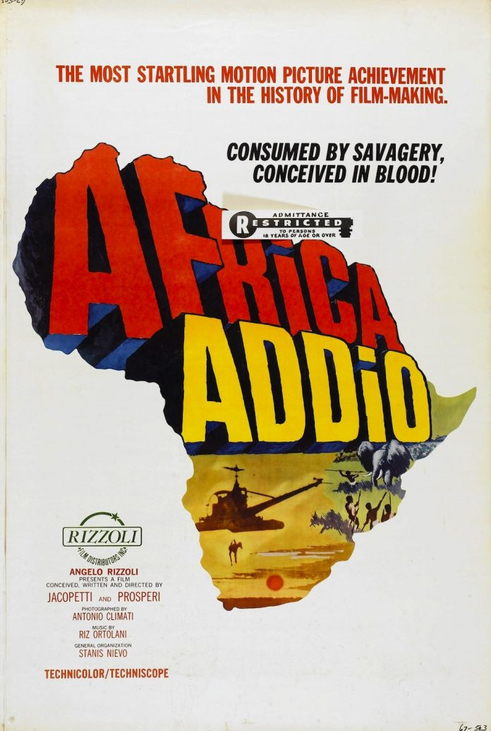 Africa Addio (AKA Africa Blood and Guts) movie poster