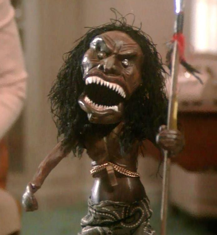 Zuni fetish doll in Trilogy of Terror horror movie