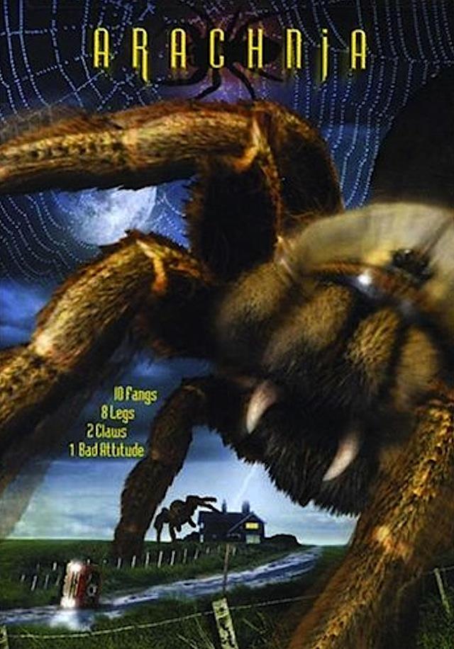 Arachnia horror movie poster