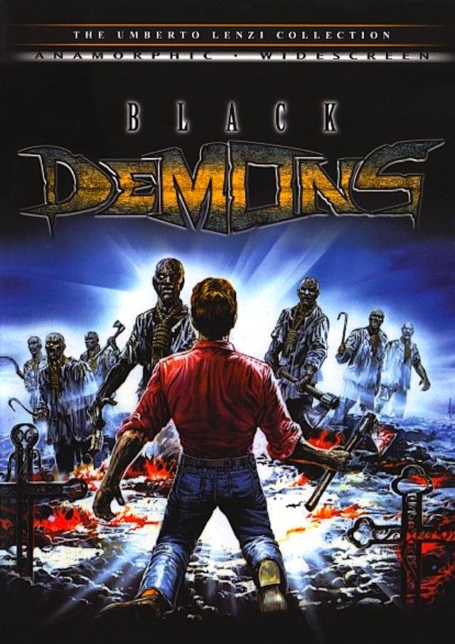 Black Demons horror movie poster
