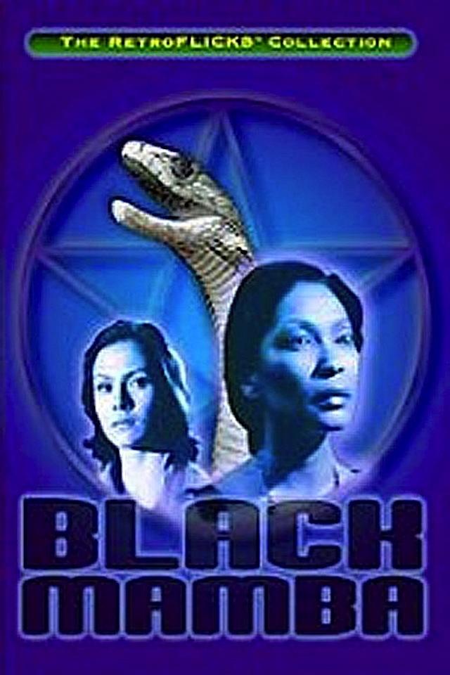 Black Mamba horror movie poster
