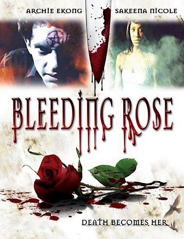 Bleeding Rose horror movie poster