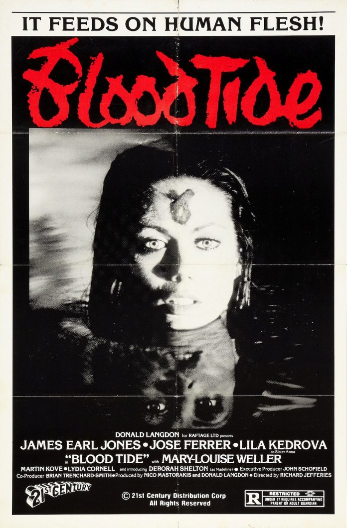 Blood Tide horror movie poster