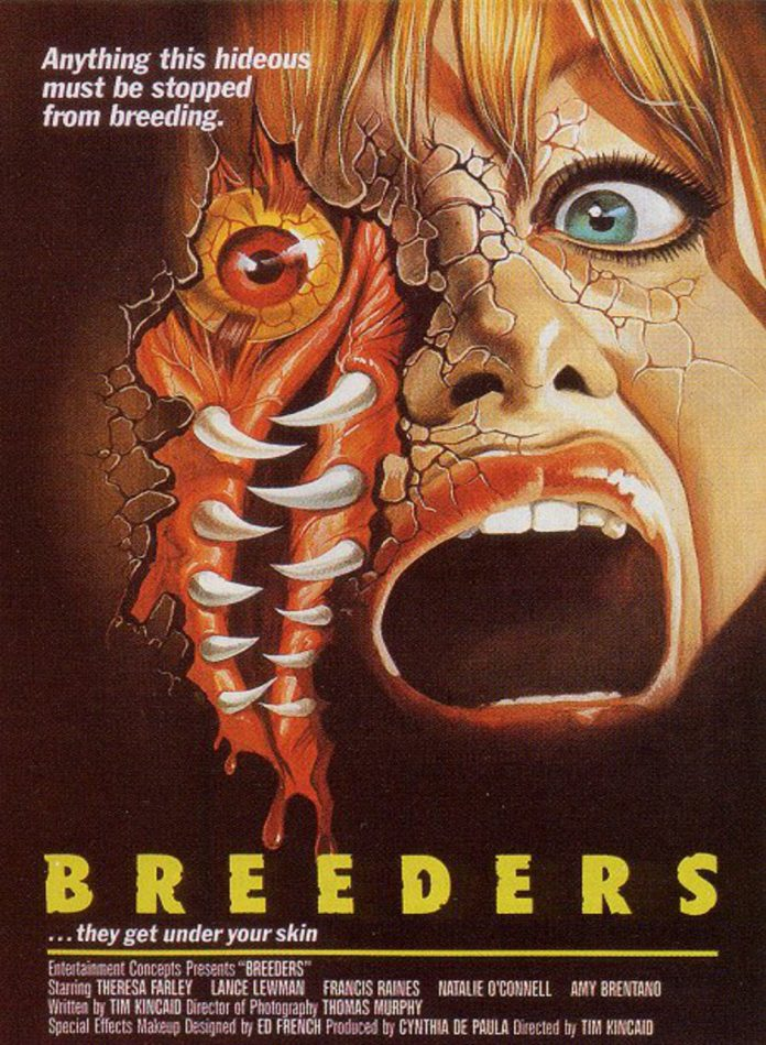 Breeders horror movie poster