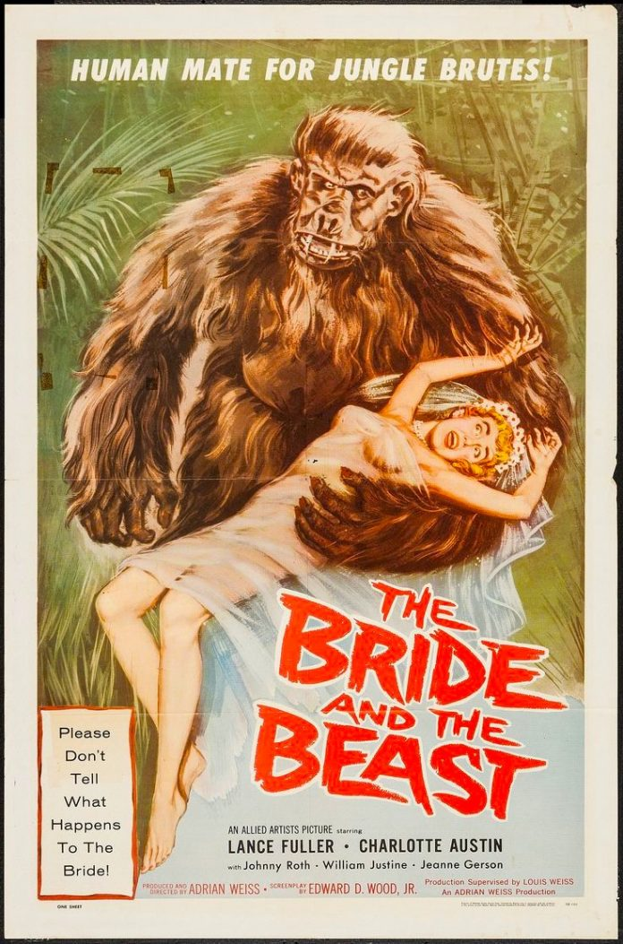 The Bride and the Beast movie poster