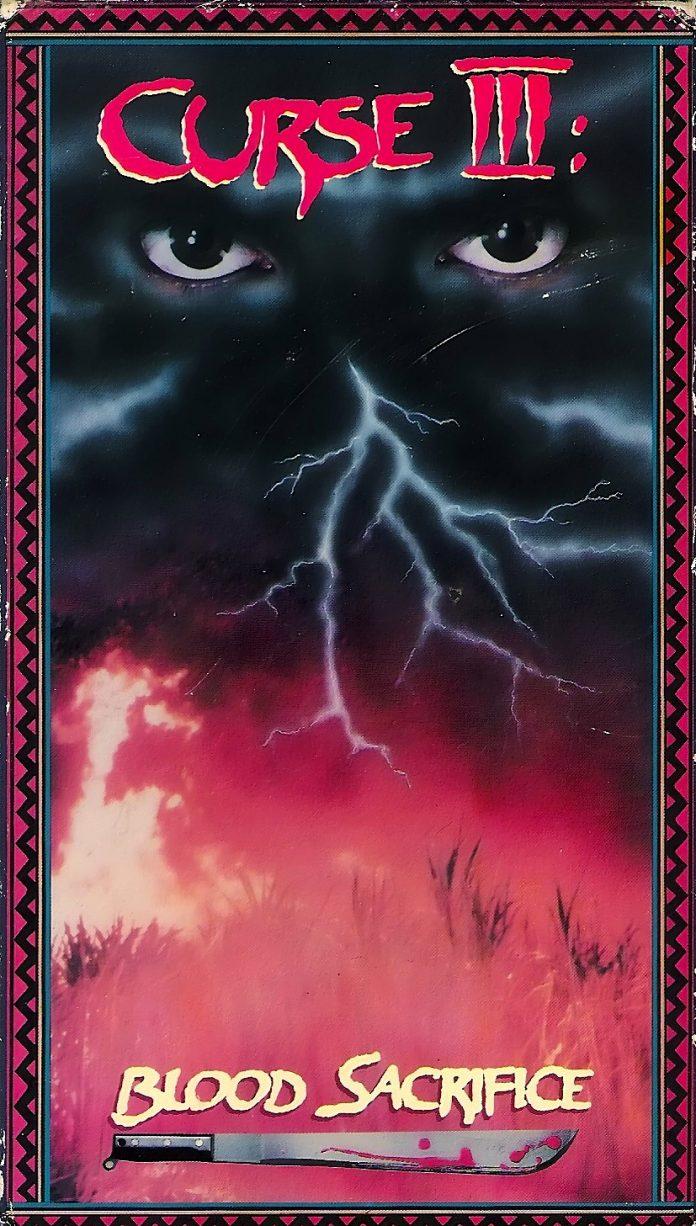 Curse III horror movie poster