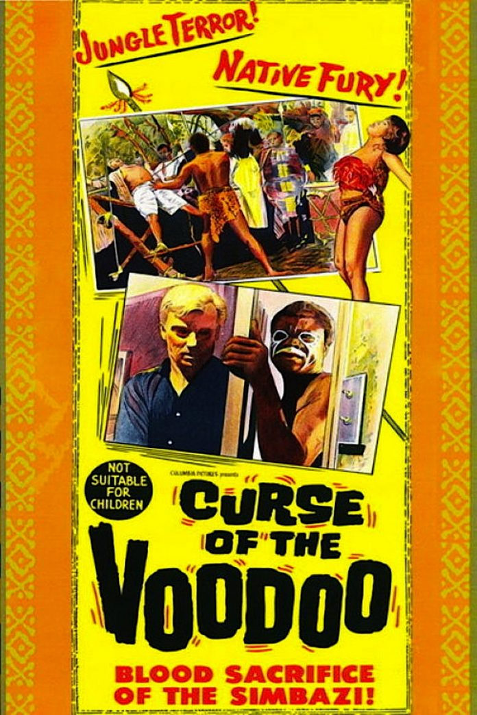Curse of the Voodoo horror movie poster