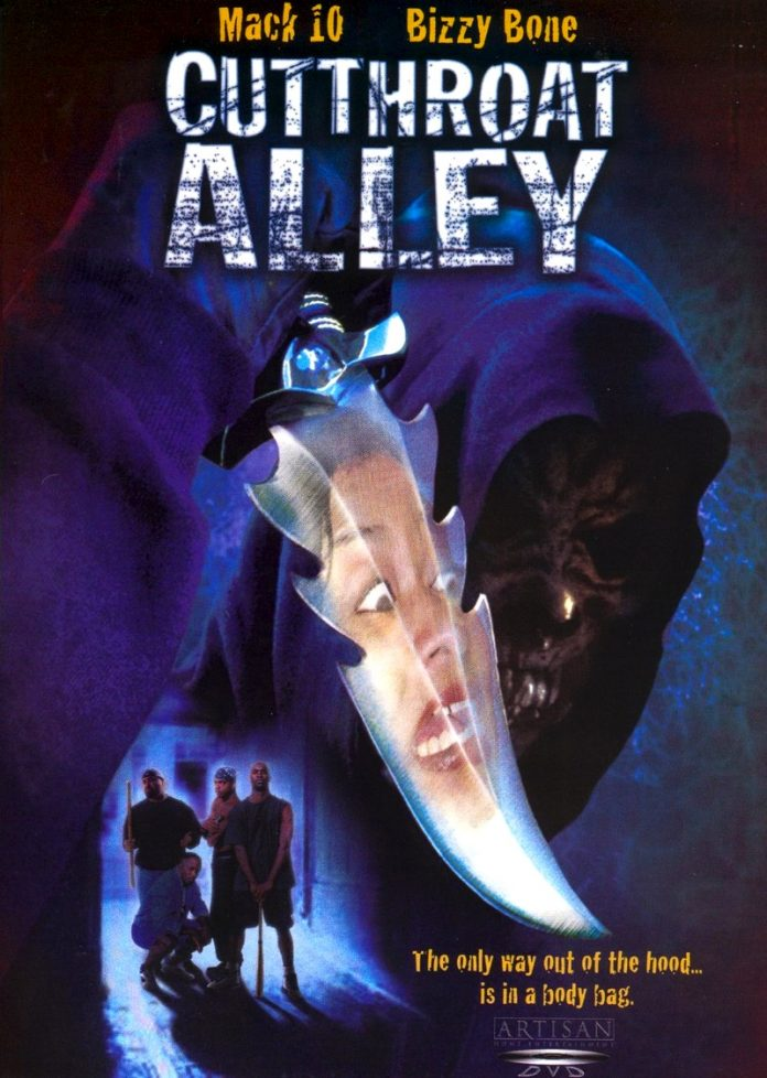 Cutthroat Alley horror movie poster