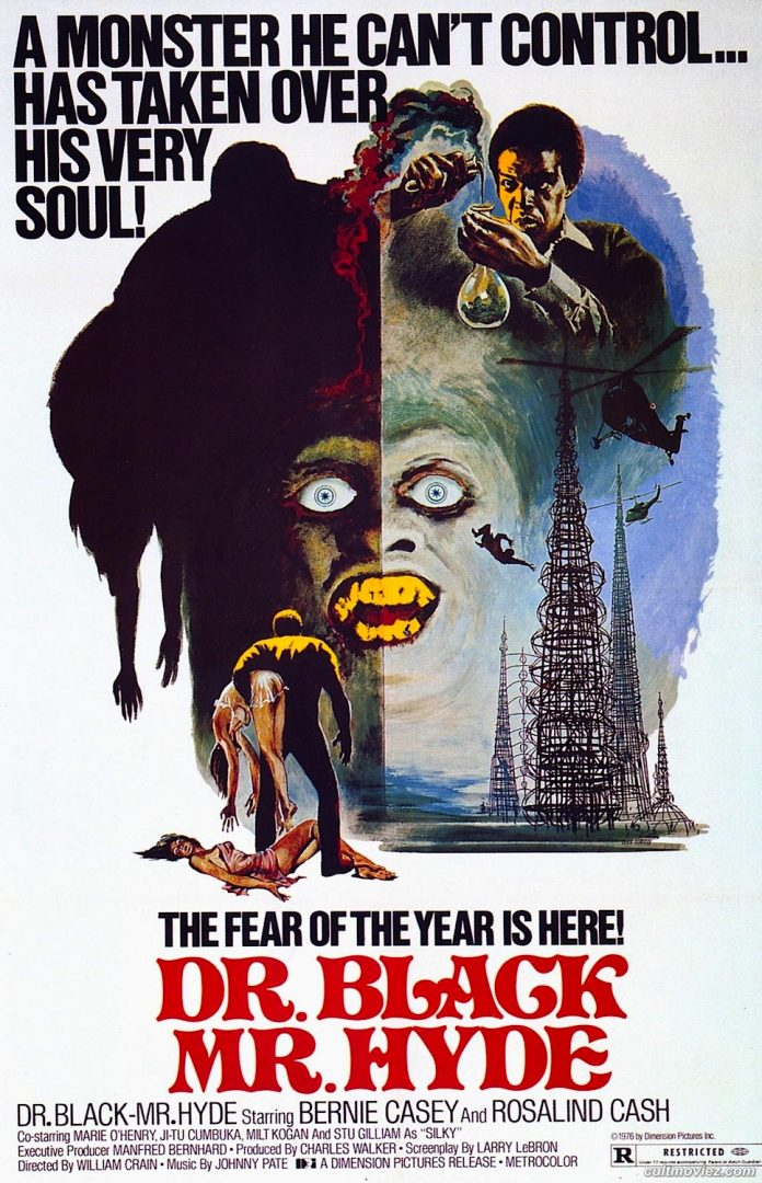 Dr. Black Mr. Hyde blaxploitation horror movie poster