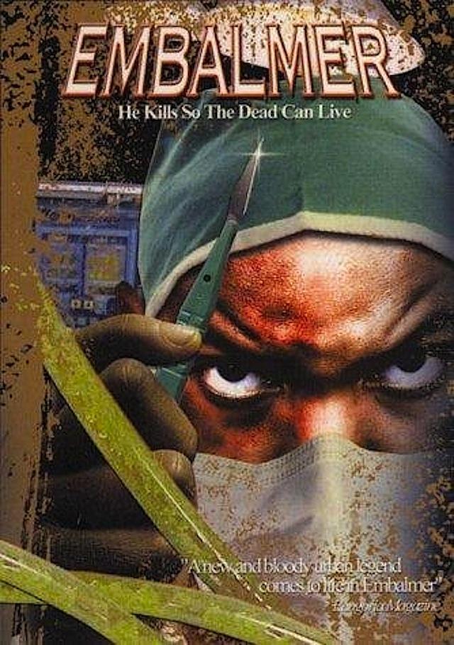 Embalmer horror movie