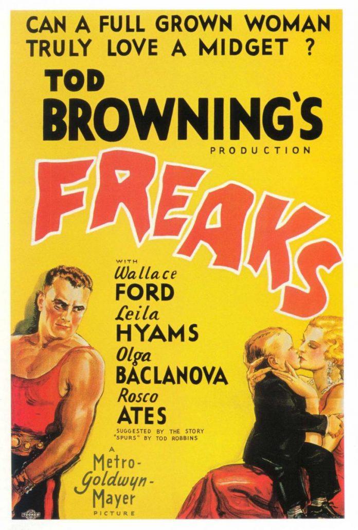 Freaks horror movie poster