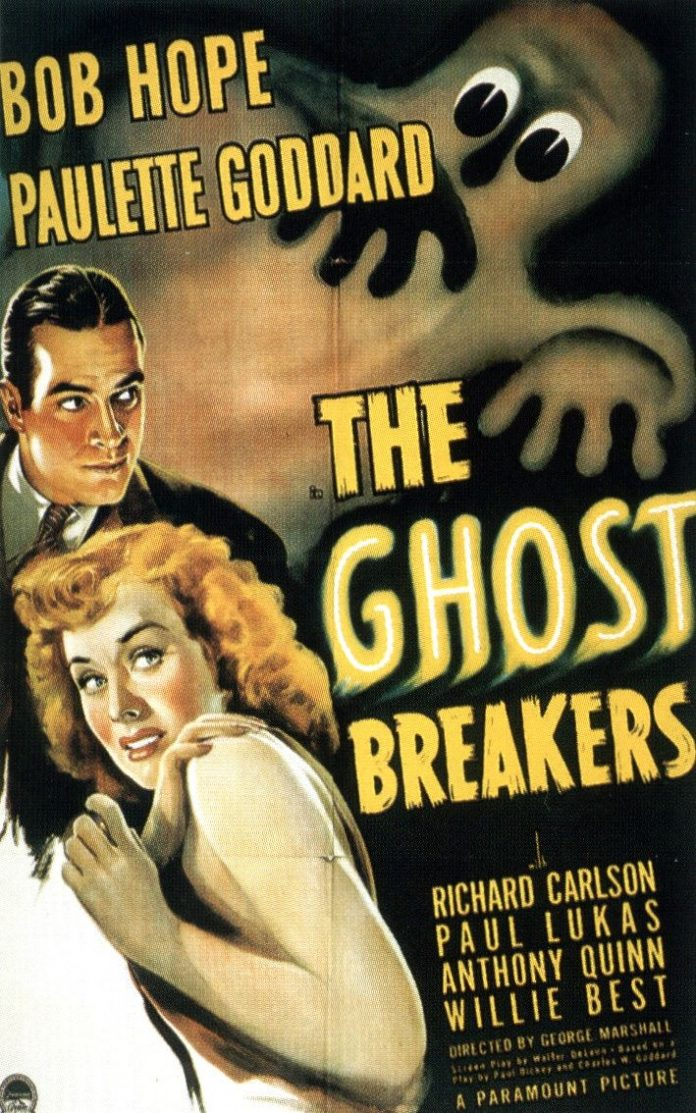 The Ghost Breakers horror movie poster