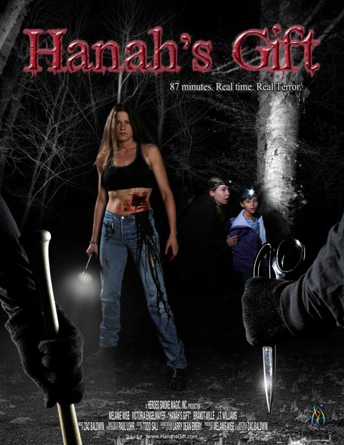 Hanah's Gift horror movie poster