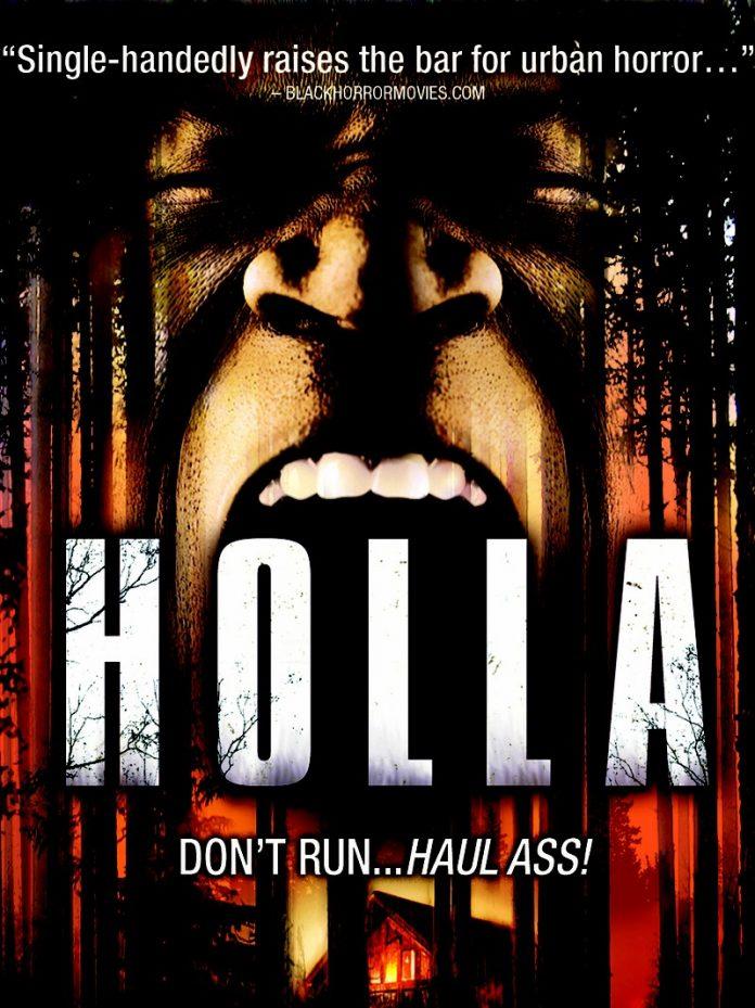 Holla horror movie poster