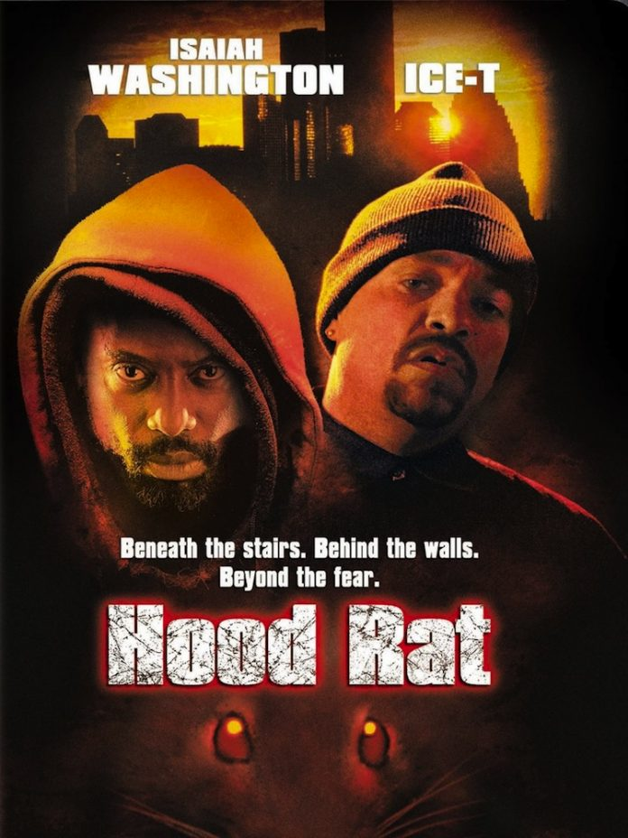 Hood Rat horror movie poster