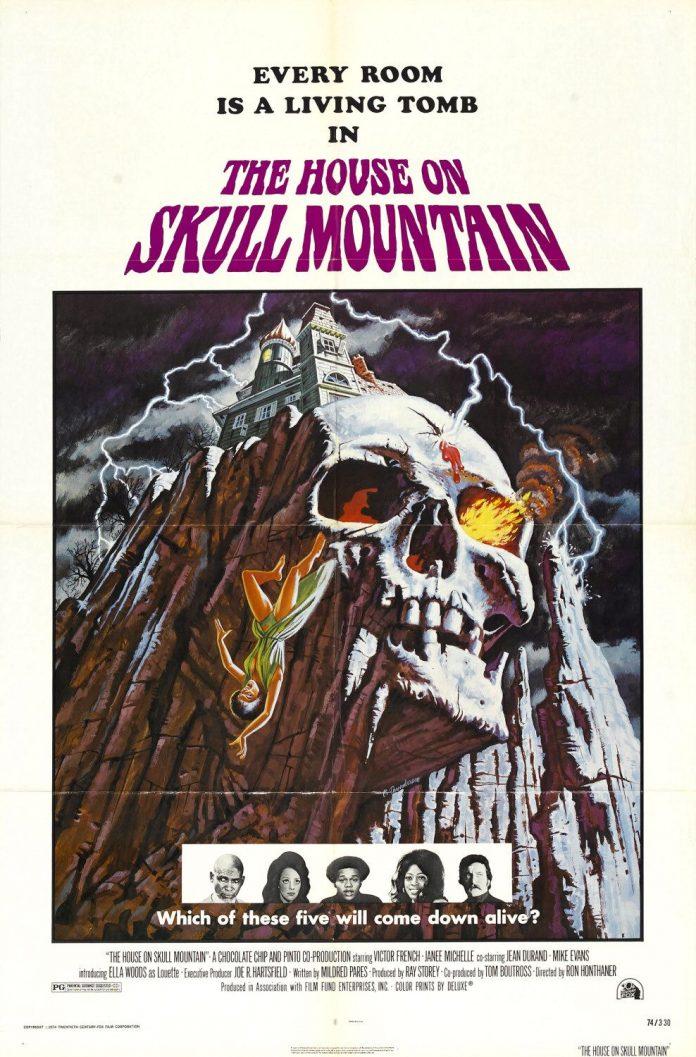 The House on Skull Mountain horror movie poster