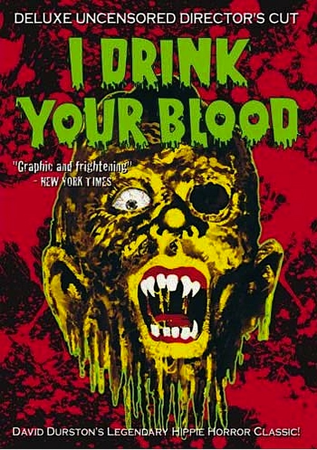 I Drink Your Blood horror movie poster