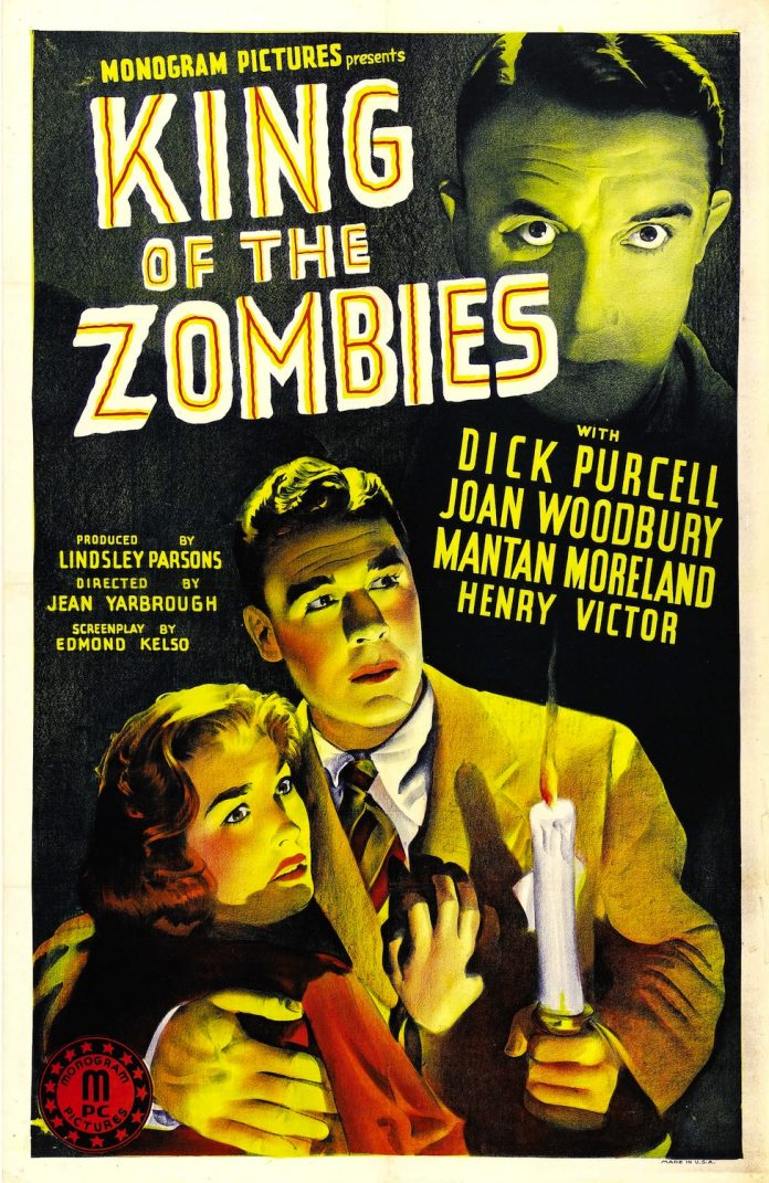 King of the Zombies horror movie poster