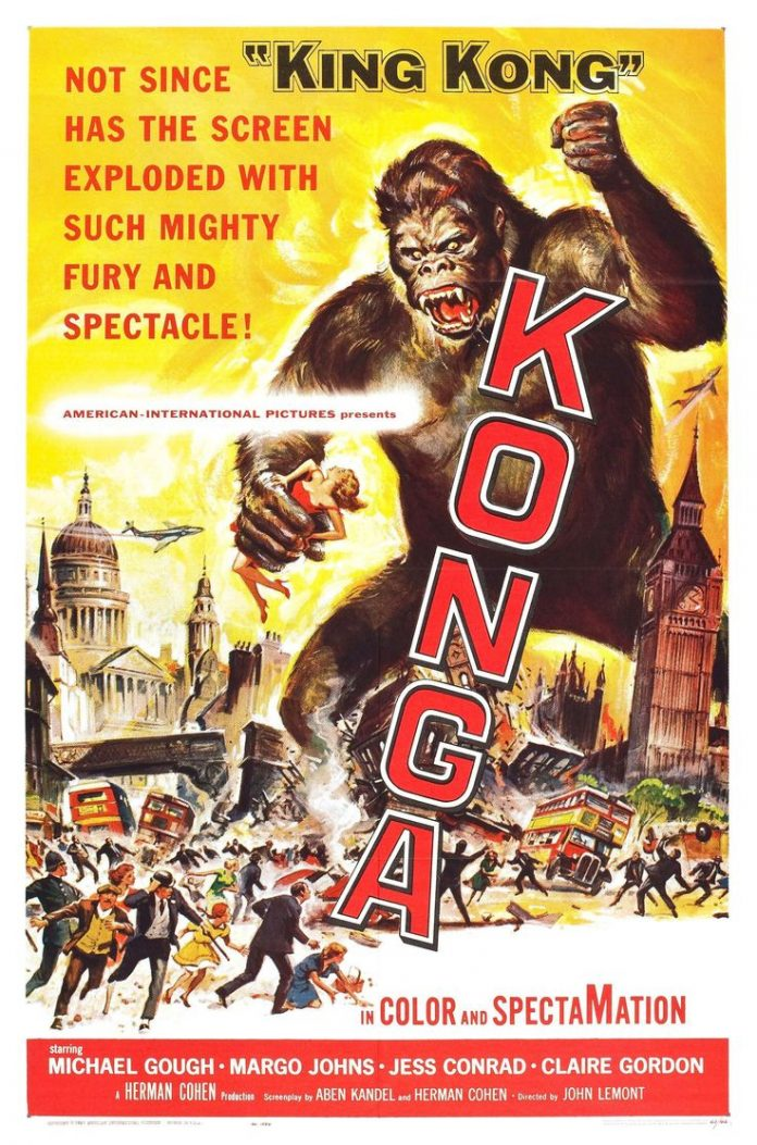 Konga horror movie poster