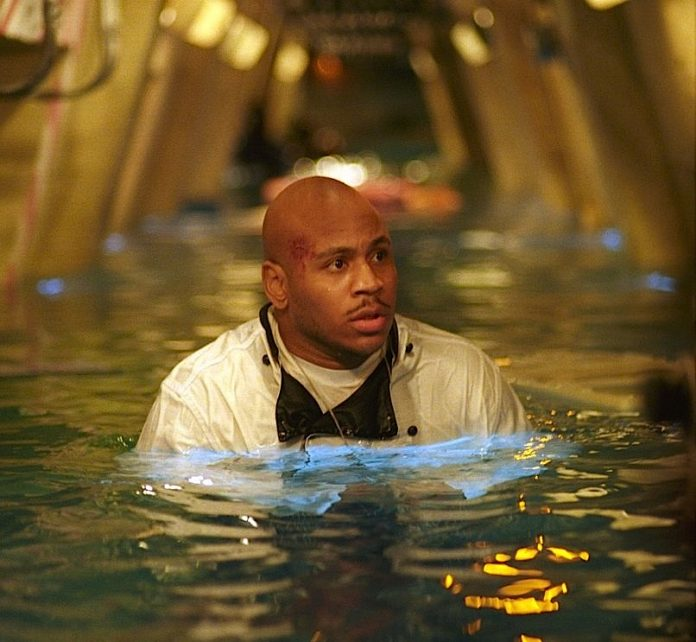 LL Cool J in Deep Blue Sea